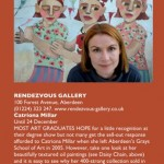 Catriona Millar in Artists & Illustrators magazine