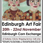 Edinburgh Art Fair advert with Muse