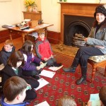 Primary School children meet Catriona at her Tolquhon Gallery solo_7127929355_l