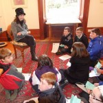 Primary School children meet Catriona at her Tolquhon Gallery solo_7127929717_l