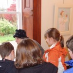 Primary School children meet Catriona at her Tolquhon Gallery solo_7127930041_l