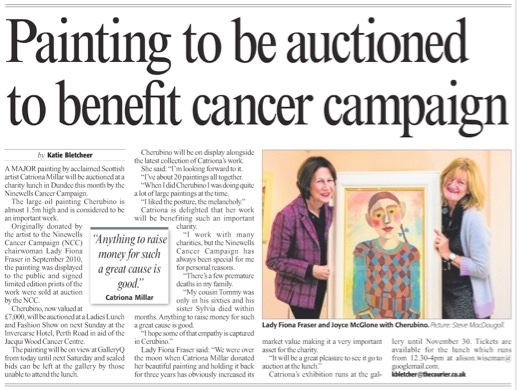 Cherubino NCC auction - Dundee Courier Nov 2013 (1)