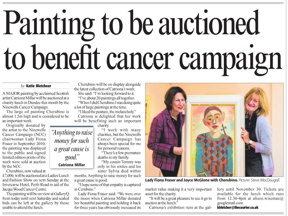 Cherubino NCC auction - Dundee Courier Nov 2013