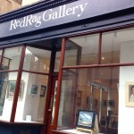 Trilby in the Red Rag Gallery, Bath