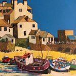 St Ives Harbour by Derek Kemp